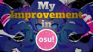 [osu!] My 2+ Years of Playing and improvement