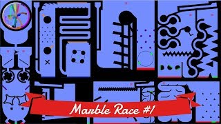 Marble Race #1: Elimination - 32 colors | Bouncy Marble