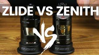 Innokin Zlide vs Innokin Zenith // Which MTL Tank is best for you?