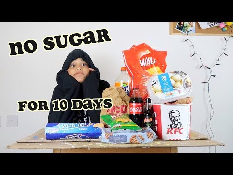 i quit sugar for 10 days - part 1   clickfortaz