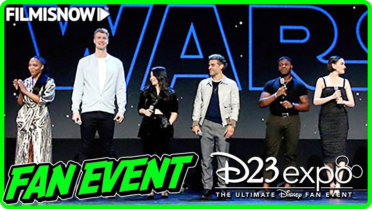 STAR WARS: THE RISE OF SKYWALKER (2019) | D23 Presentation & Interviews