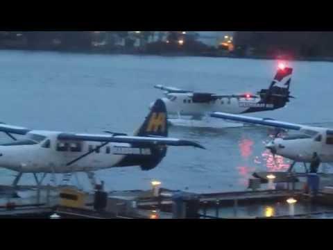 Vancouver harbour seaplane spotting December 2014.