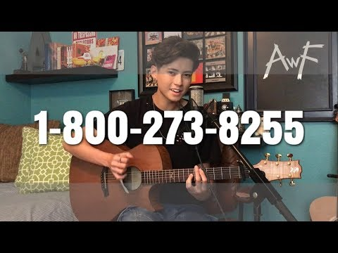 Logic - 1-800-273-8255 ft. Alessia Cara & Khalid - Cover (Vocal/Fingerstyle)