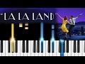 A Lovely Night - La La Land soundtrack - Piano Tutorial