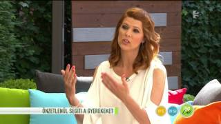 Jaksity Kata: ˝nem elég a sajnálkozás˝ - tv2.hu/fem3cafe