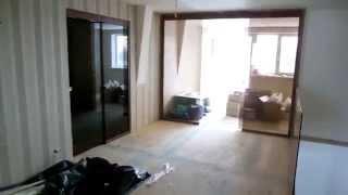 Стеклянные двери, стеклянные перегородки. Ограждение лестницы. Ч.2.(Примеры цельностеклянных конструкций - перегородки, двери. Заказать: http://nashiokna.com.ua/steklyannie-konstrukcii/, 2013-12-27T20:02:45.000Z)