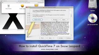 Episode 1: How To Install QuickTime 7 on Mac OS X Snow Leopard