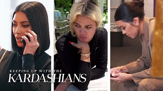 Khloe Gets Pulled in the Middle of Kim & Kourtney's Quarrel | KUWTK | E!