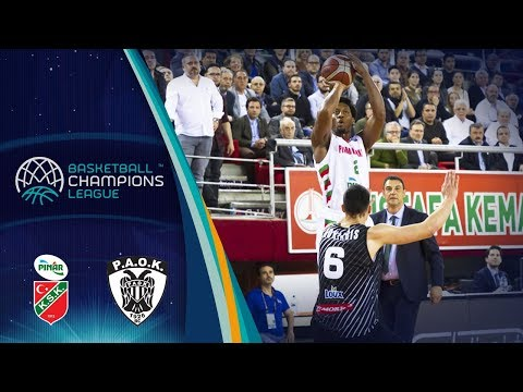 Pinar Karsiyaka v PAOK - Highlights - Basketball Champions League