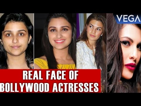 Top 10 : Real Face Of Bollywood Actresses Without Makeup
