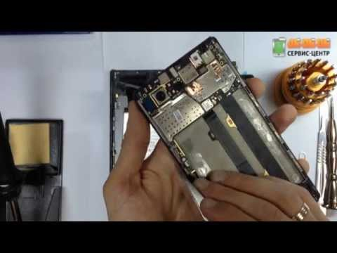 Разбор Lenovo Vibe Z2 Pro K920: замена экрана (дисплейного модуля)