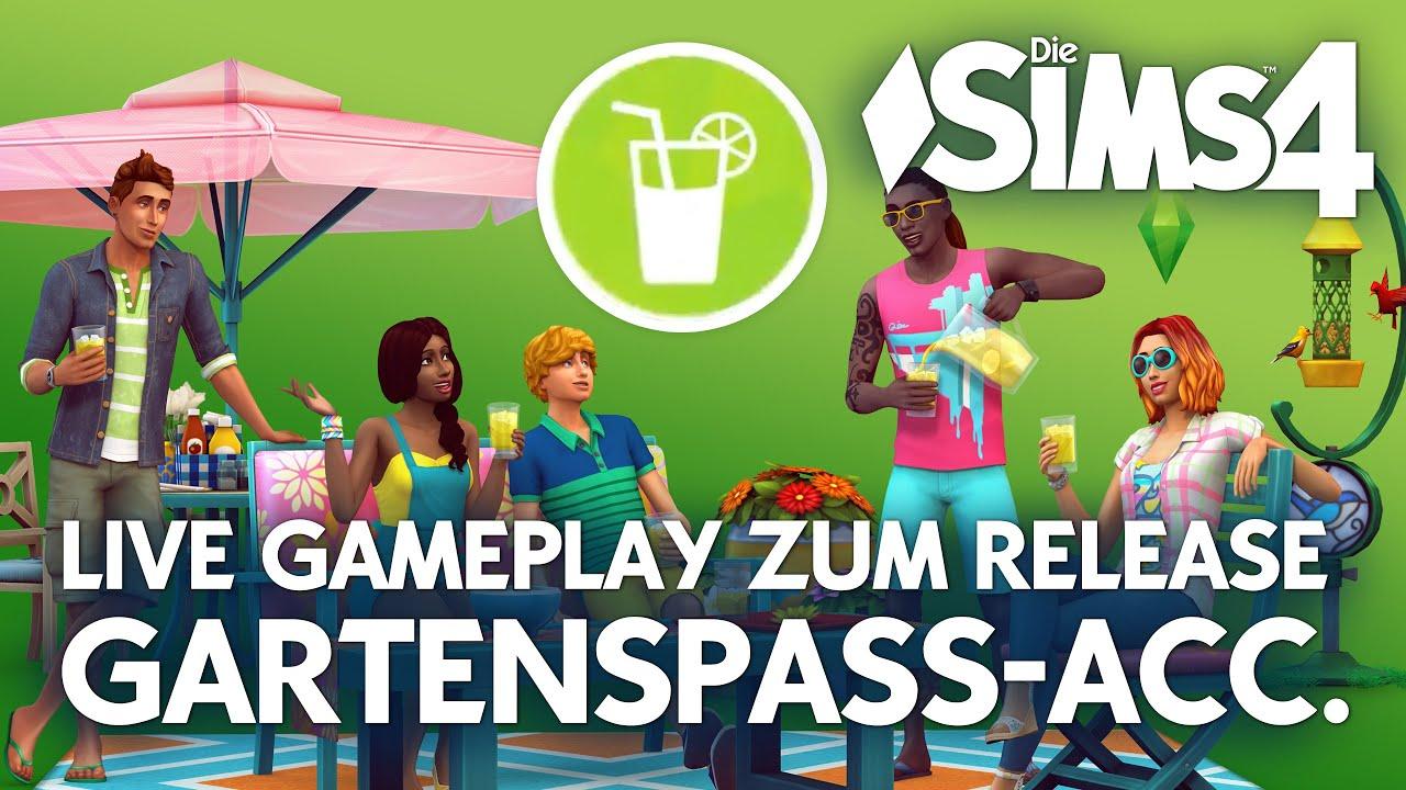 Die sims 4 gaumenfreuden release showcase restaurant gameplay pack - Live Die Sims 4 Gartenspa Accessoires Release Showcase Community Talk