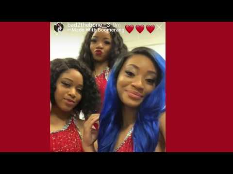 Tamia and Dianna Williams on good terms