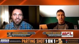 UFC veteran Matt Dwyer talks BFL title fight Nov 18, move up to 185lbs and Fantasy Football