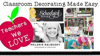 Classroom Decorating on a Budget with School Girl Style + Her Best Tips and Tricks