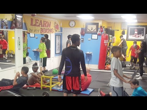 youth bootcamp come try a free class located in oviedo Fl