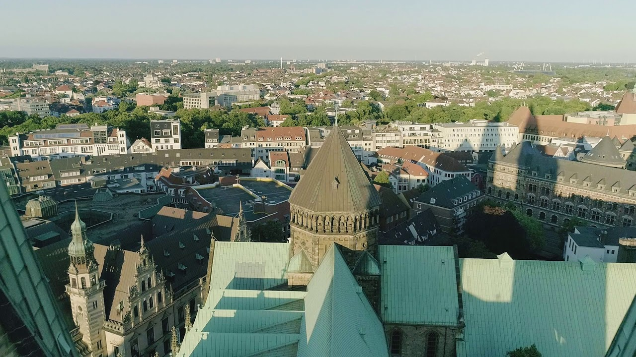 Drohnenaufnahmen vom Bremer St. Petri Dom 4