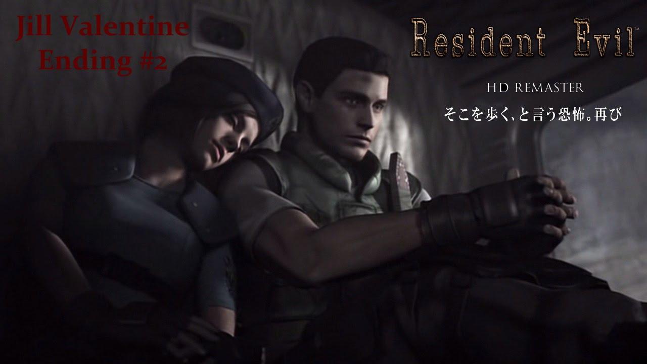 Resident Evil Hd Remaster Quot Jill Valentine Quot Ending 2