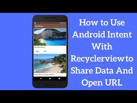How to Use Android Share Intent With Recyclerview to Share