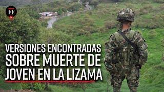 Versiones encontradas por muerte de menor de edad en La Lizama - El Espectador