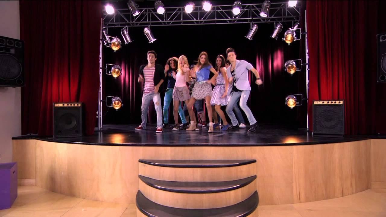 Violetta - Uczniowie tańczą do Tienes el talento. Odcinek ...