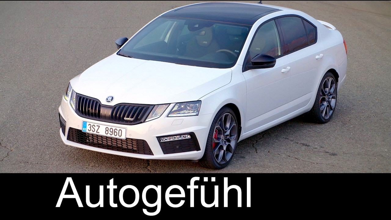 skoda octavia rs tsi facelift sound check racetrack exterior hatch limousine vs estate combi. Black Bedroom Furniture Sets. Home Design Ideas