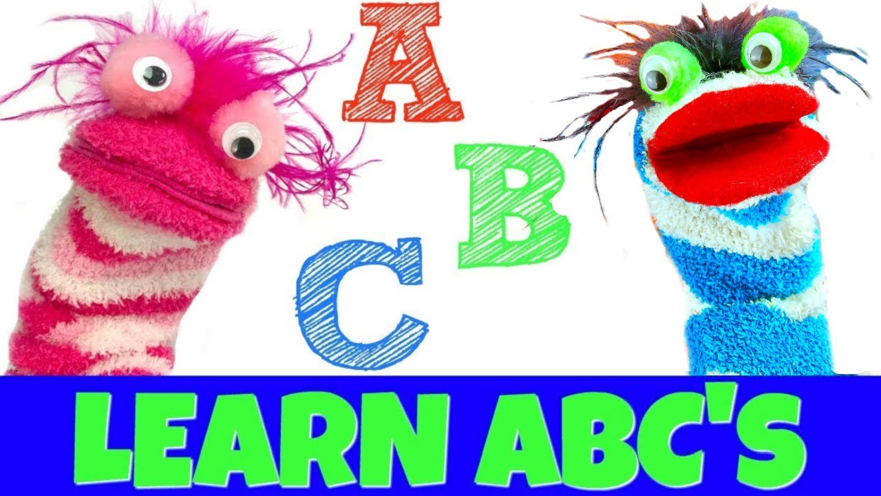 Learn the Alphabet with Fizzy and Phoebe ABC Toy Learning