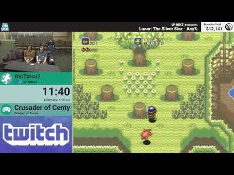 Crusader of Centy (All Bosses) by GinTatsu2 (RPG Limit Break 2018 Part 7)