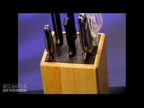 Kapoosh Universal Cutlery Block At Bed Bath Beyond Youtube