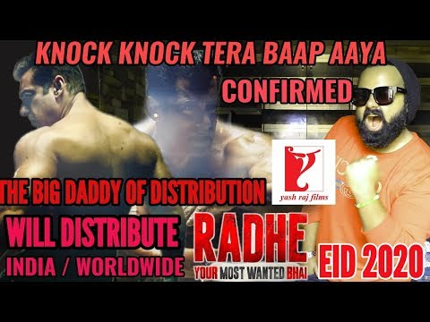 RADHE YOUR MOST WANTED BHAI TO BE DISTRIBUTED BY YRF FILMS | OFFICIAL | CONFIRMED | SALMAN KHAN