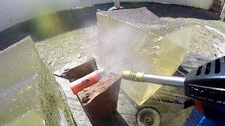 Torching a 12 Gauge Buckshot Shell