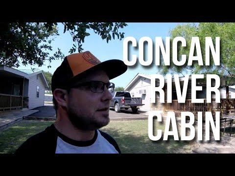 Cabin Tour - 4J River Camp - Concan, TX