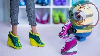Как сделать ботинки для куклы. How to make boots for a doll.(Мы предлагаем сделать ботинки для куклы на основе техники, как делали туфли для куклы. Мы добавим платформу..., 2015-04-11T03:42:12.000Z)