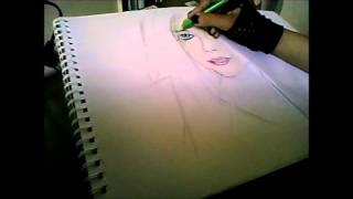 Speed drawing avril lavigne