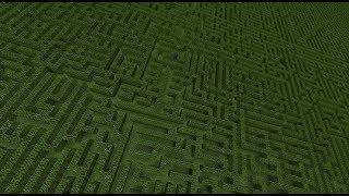 Minecraft 1.12 - functions - #2 INSTANT Maze generator