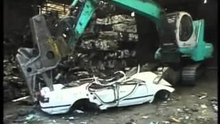 Scrapyard car killing machine