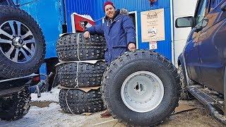 Огромные колеса на Буханку! Подвеска Нивы с V8 почти готова!