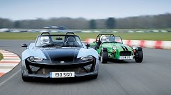 Zenos E10 S vs Caterham Seven 360R - twin test - car review