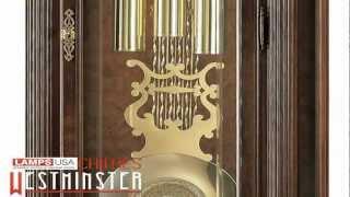 Howard Miller Langston Floor Grandfather Clock Chimes 611 017