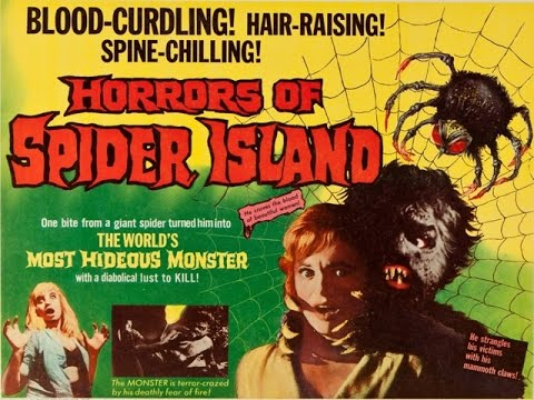 Image result for Horrors of Spider Island (1960)