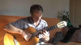 видео: Вальс Е. Дога на гитаре