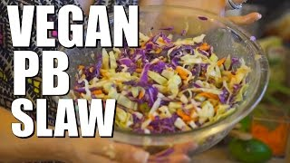 Vegan Pb Slaw | Easy Vegan Recipe