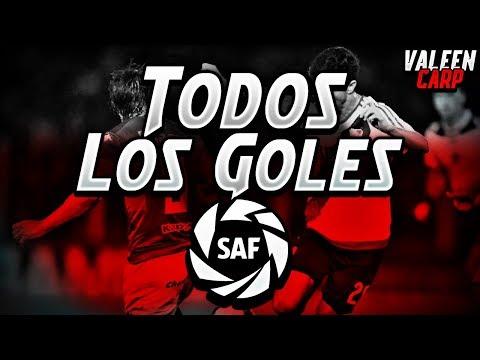 TODOS los GOLES de RIVER en la SUPERLIGA 2018/2019 | [42 goles con relatos]