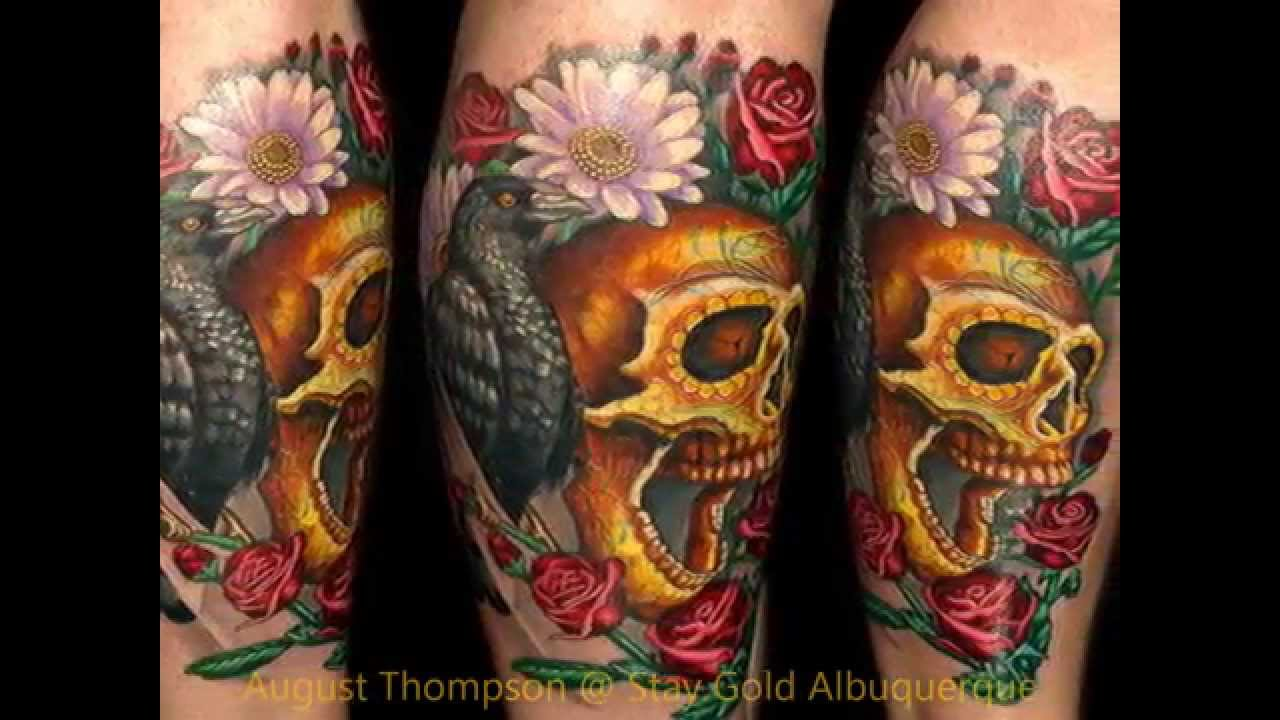 Tattoos by august thompson stay gold tattoo albuquerque for Albuquerque tattoo shops