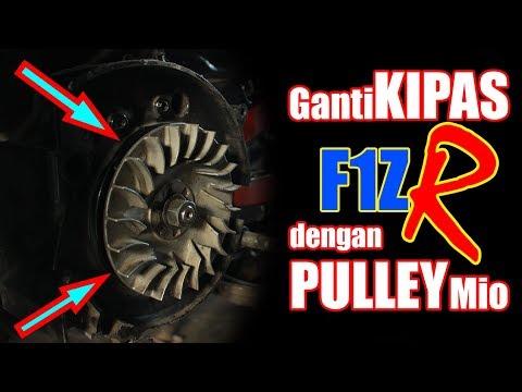 Ganti Kipas F1ZR dengan Pulley Mio