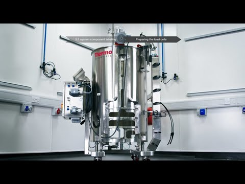 How To Video 1 Of 3: Thermo Scientific HyPerforma Single-Use Bioreactor Setup And Installation