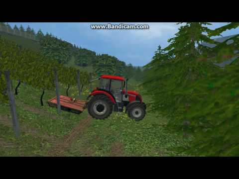 Cutting grass in South - East Slovenia (UTH V5) FS 15    Ep. 1