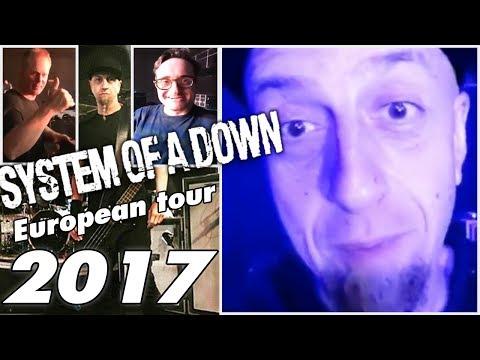 System Of A Down - European tour 2017 (Production set)