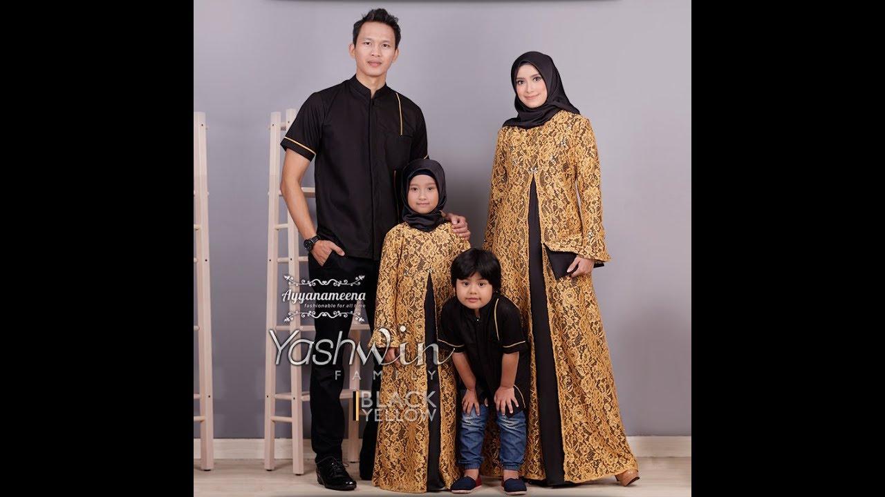 Baju Muslim Couple Keluarga 8 Elegan Terbaru Trend Baju Lebaran
