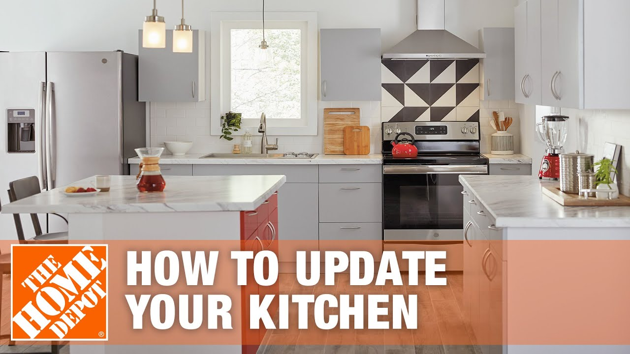 How To Update your Kitchen   The Home Depot